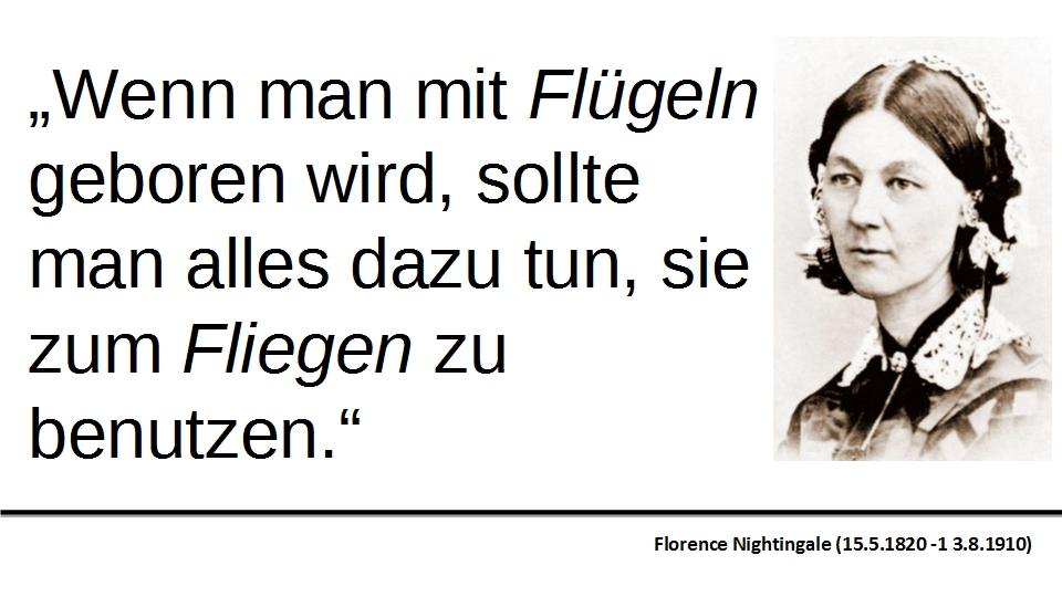 Florence Nightingale Zitat