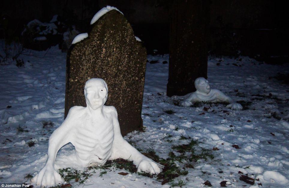 Freezing Zombie