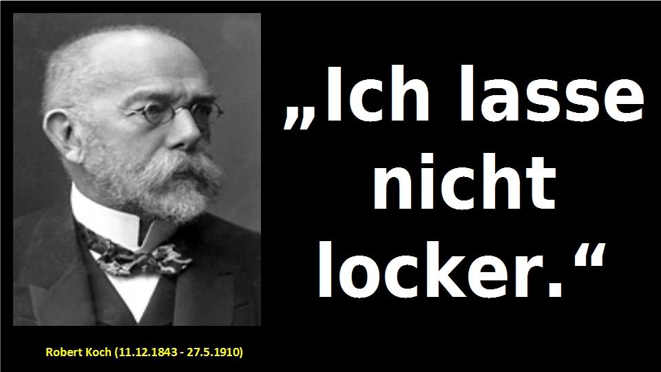 Robert Koch Zitat