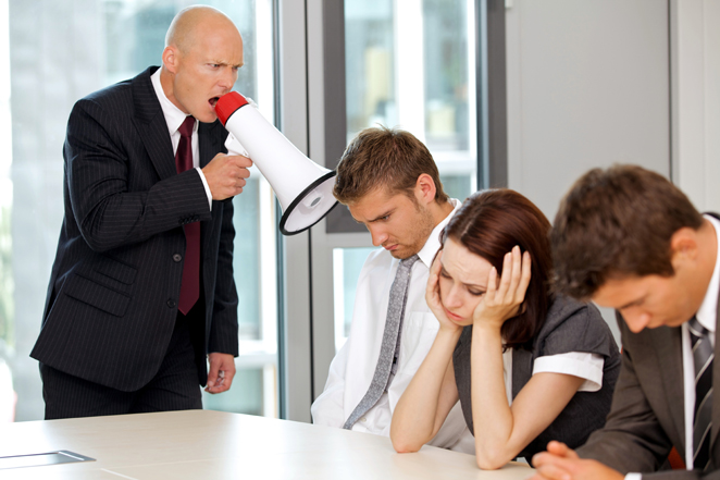 Schikane am Arbeitsplatz