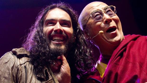 Dalai Lama Und Russell Brand