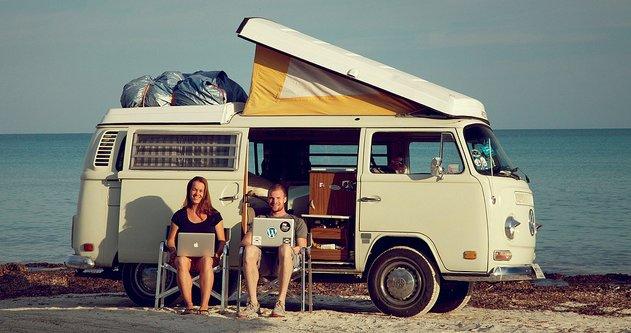 Sommerjob Digitale Nomaden