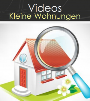 video geniale wohnideen f r kleine wohnungen. Black Bedroom Furniture Sets. Home Design Ideas